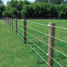 Wire and Woven Fence Installation in Sugar Land, Texas